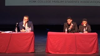 DAVID WOOD ASKED TO REPENT ON STAGE!! - MOHAMMED HIJAB VS DAVID WOOD