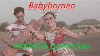 INDONESIA PUSAKA 74th (Dayak Sape') - Babyborneo ft. Teta Cover