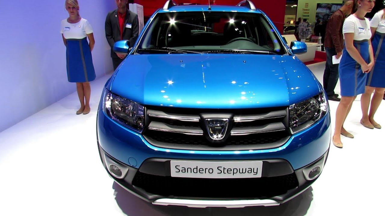 2014 dacia sandero stepway exterior and interior walkaround 2013 frankfurt motor show youtube. Black Bedroom Furniture Sets. Home Design Ideas