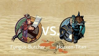 Shadow Fight 2 Fungus-Butcher Vs Hoaxen-Titan