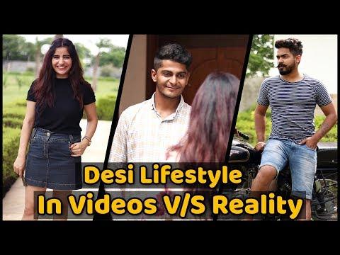 Desi Lifestyle In Videos VS Reality || Nishant chaturvedi || The Rahul Sharma
