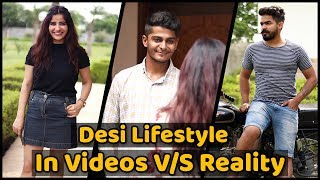 Desi Lifestyle In Videos VS Reality || Nishant chaturvedi || The Rahul Sharma