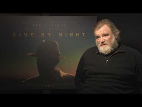 Brendan Gleeson - Interview with 'Live By Night' & 'Trespass Against Us' actor