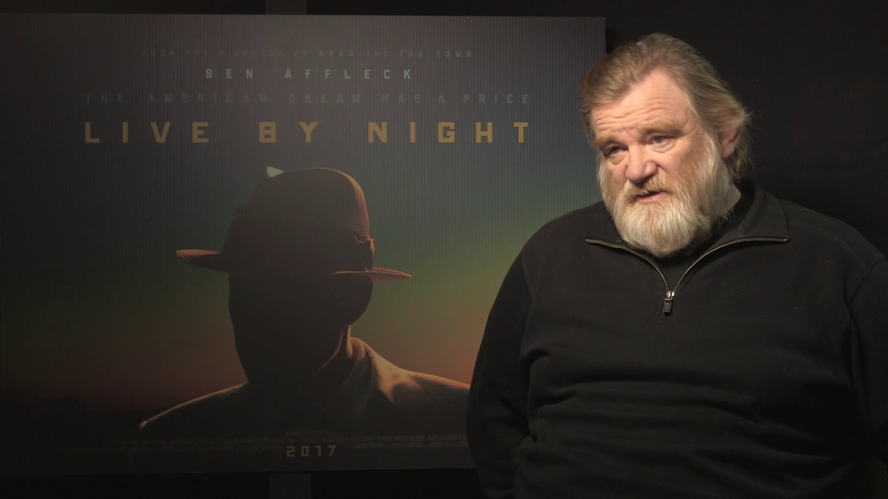 Brendan Gleeson - Interview with 'Live By Night' & 'Trespass ...