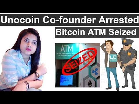 Police Arrest Unocoin Co-Founder | Bitcoin ATM Seized - Unocoin News