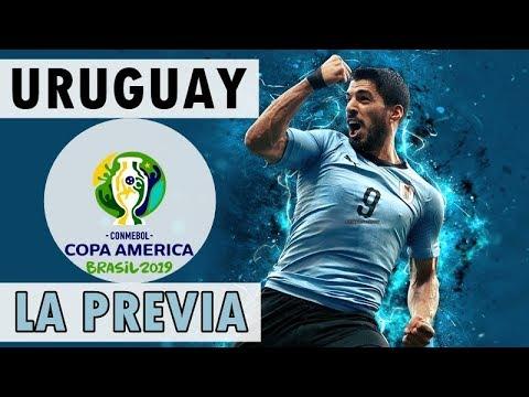 A la Copa América con...URUGUAY: Alineación y posible plantilla de una de las favoritas 🇺🇾
