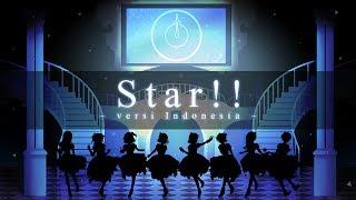 【8人合唱】 Star!! -Indonesian ver- (OST. The Idolm@ster Cinderella Girls)