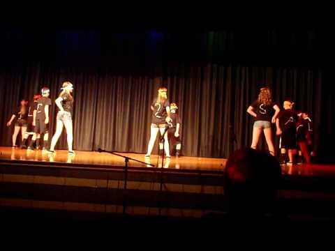 Raynham Middle School Talent Show Super Freaks (closeup version)