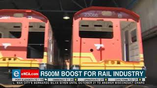 R500 million boost for rail industry