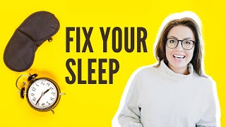 How to Fix Your Sleep