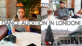 DANCE AUDITION IN LONDON AND A FESTIVE CONCERT | Georgie Ashford