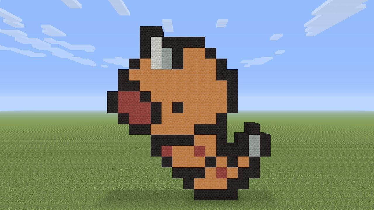 pixel weedle minecraft pokemon