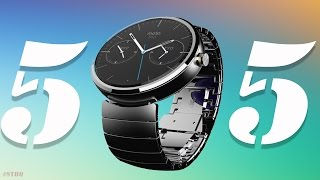 5 THINGS To Love About The Moto 360!