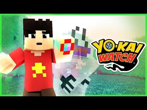 Minecraft Yo-Kai Watch ► SUMMONING A GHOST?! #1 (Minecraft Yokai Watch Roleplay)