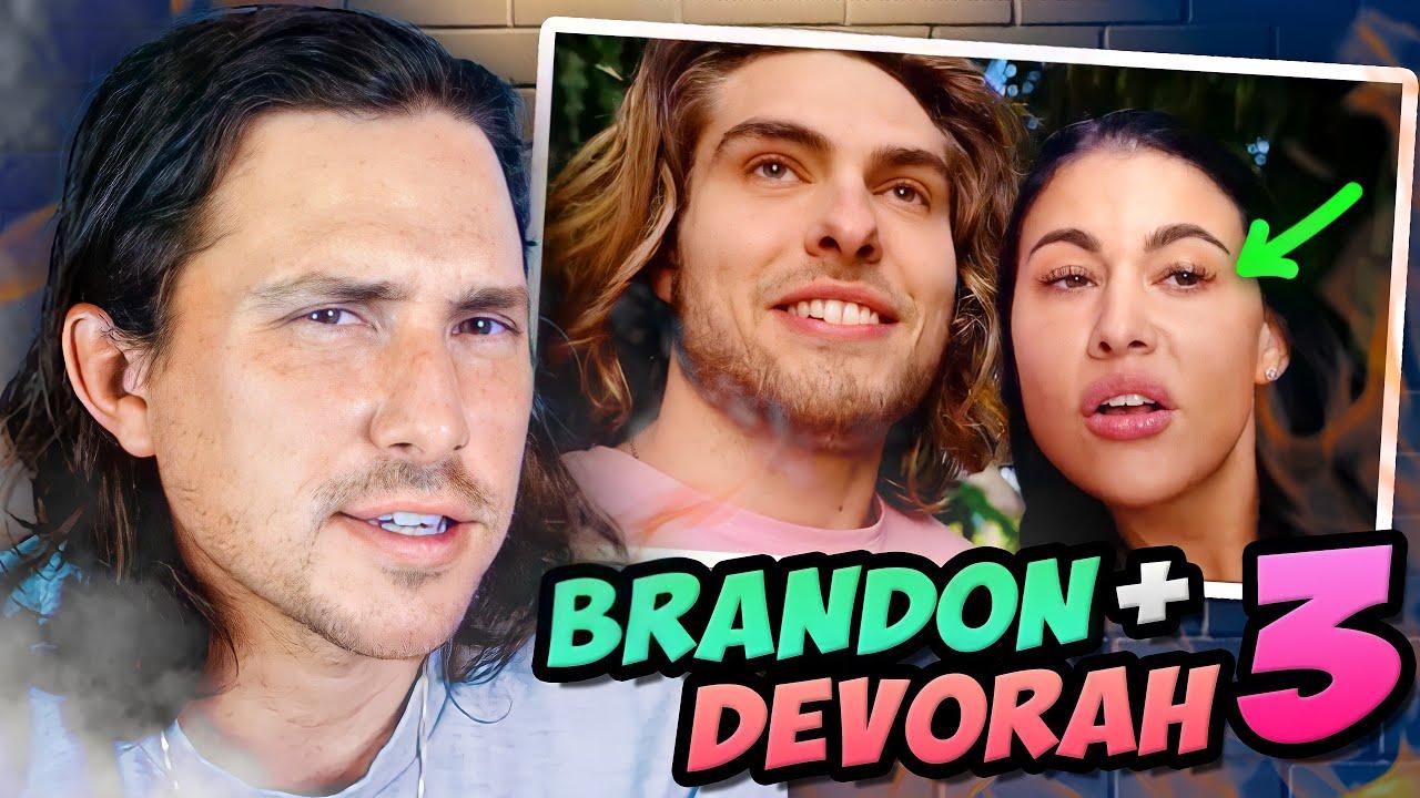 Dating Coach Reacts to BRANDON WALSH + DEVORAH ROLOFF 3