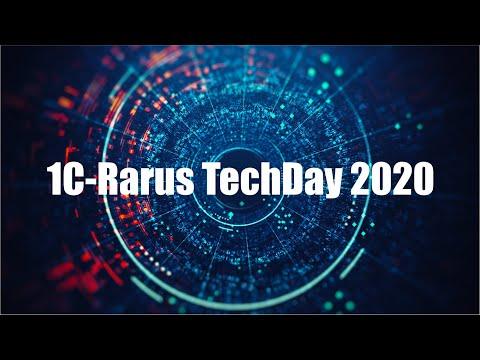 1C-RarusTechDay 2020: техническая конференция программистов «1С»