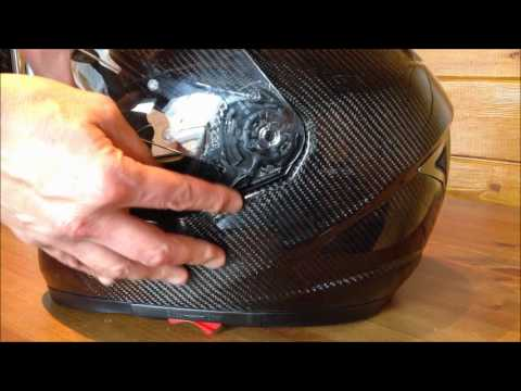641416b2 Held helmets- no-tools visor change - YouTube