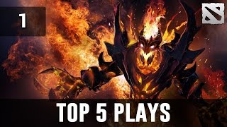 Dota 2 Top 5 Plays | Shadow Fiend Ep. 1