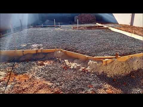 Steel Frame - Construção Seca - Radier