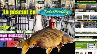 Pescuit la crap cu Alexandru