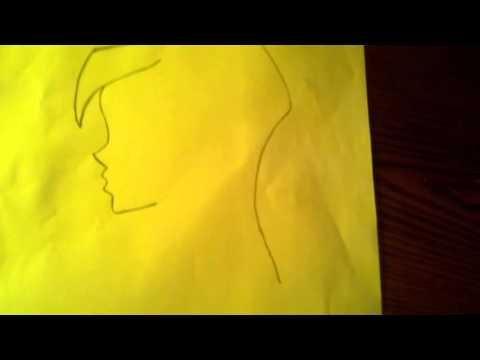 Рисую Блум из мультфильма Винкс