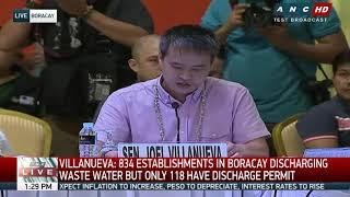 'Like Divisoria, Cartimar': Senators probe Boracay 'cesspool'
