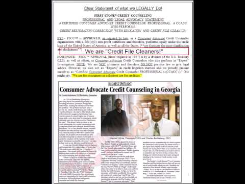 Credit Crisis Credit Repair for Credit Distressed for Credit Stressed and Debt overload Individuals