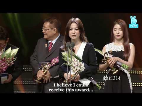 [Engsub Full cut]161027 송중기 송혜교 Song Joong Ki Song Hye Kyo 宋仲基 宋慧乔 Song Song Couple