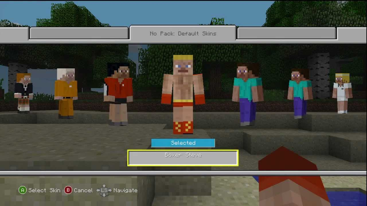 Minecraft update 1 7 3 for the xbox 360 character skin for Mine craft free demo