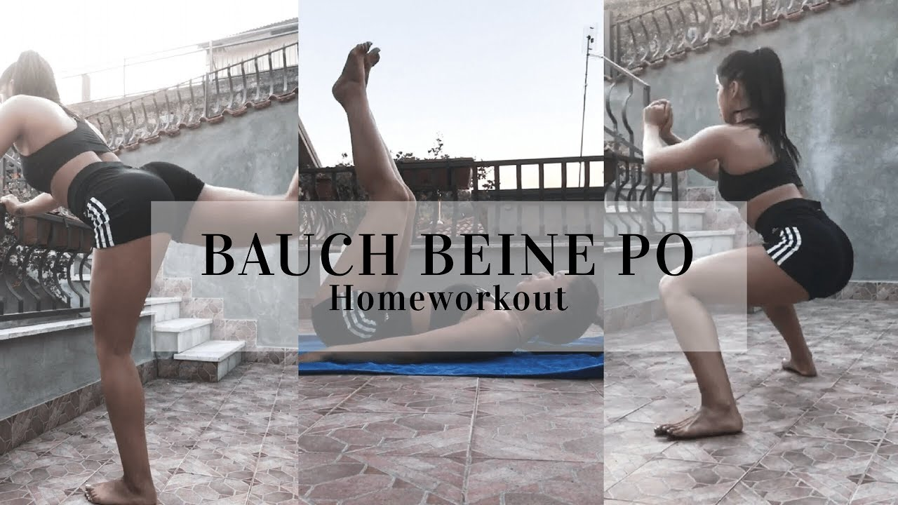 bauch beine po training f r zuhause legs outdoor homeworkout youtube. Black Bedroom Furniture Sets. Home Design Ideas