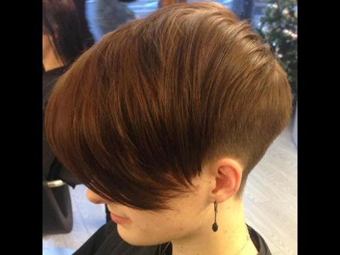 Wonderful Wedge Haircuts - YouTube