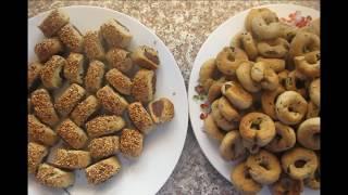Ka'ak праздничное печенье с финиками  Арабская кухня