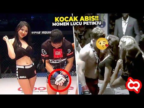 Ketika Si Adek Kecil Gak Kekontrol! Momen Kocak Yang Terjadi Dalam Dunia MMA Dan Tinju