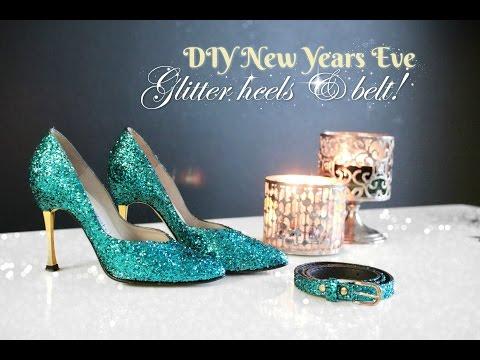 2747a1e07b1c DIY Designer Swarovski Crystal Shoes!! arkwars.ru