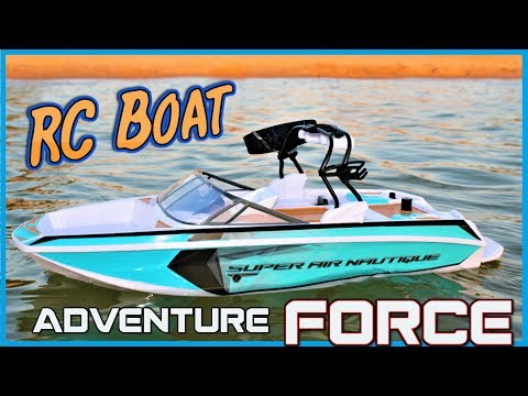 Unboxing Adventure Force RC Wake Board Boat: Fun Water Play