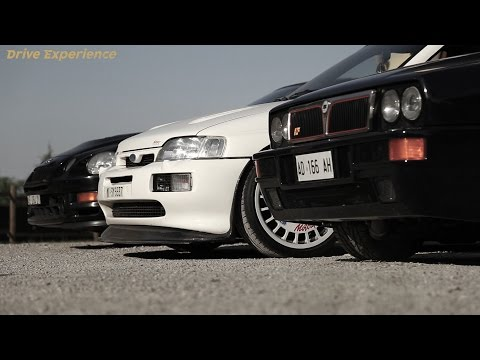 Delta vs Escort vs Celica | '90s Rally Legends - Davide Cironi Drive Experience (ENG.SUBS)