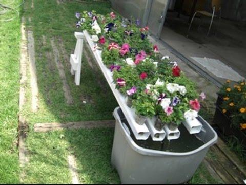 Como hacer un jardin hidroponico casero youtube - Jardin hidroponico ...