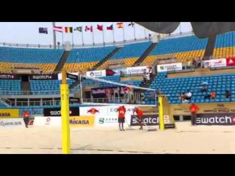 Beijing Center Court Match Prep vs. Emanuel-Alison
