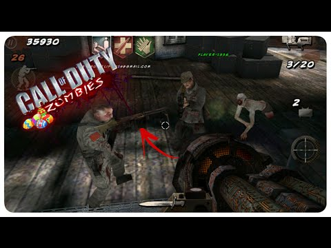 🕹 COD BO ZOMBIES ANDROID : ONLINE GAMEPLAY + EASTER EGG