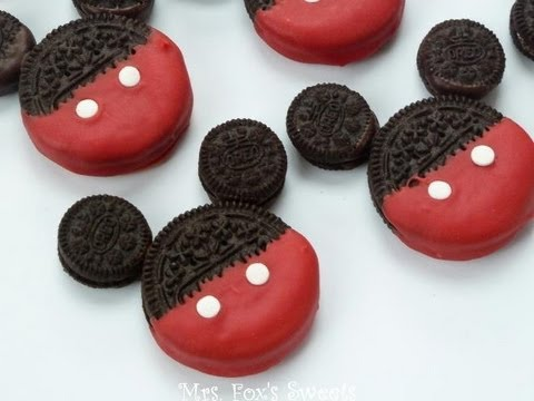how-to-make-mickey-mouse-oreos
