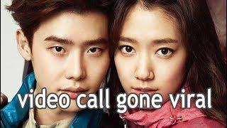 Video Park Shin Hye and Lee Jong Suk Video Call download MP3, 3GP, MP4, WEBM, AVI, FLV November 2017