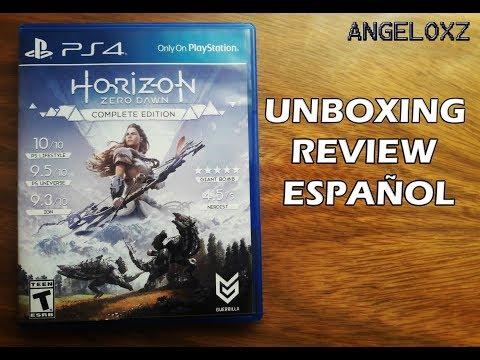 Horizon Zero Dawn Complete Edition | Review Unboxing Español | AngeloXZ