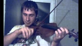 Imnul Rapidului cantat la vioara