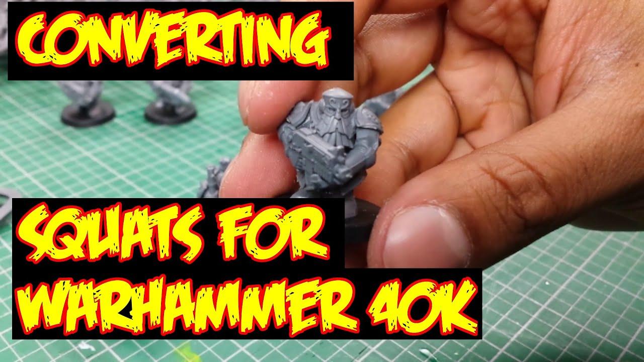 Converting Squats for Warhammer 40k