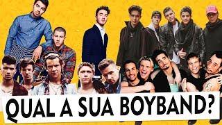 QUAL SUA BOYBAND: CNCO, ONE DIRECTION, BACKSTREET BOYS, NSYNC...? | Maicon Santini