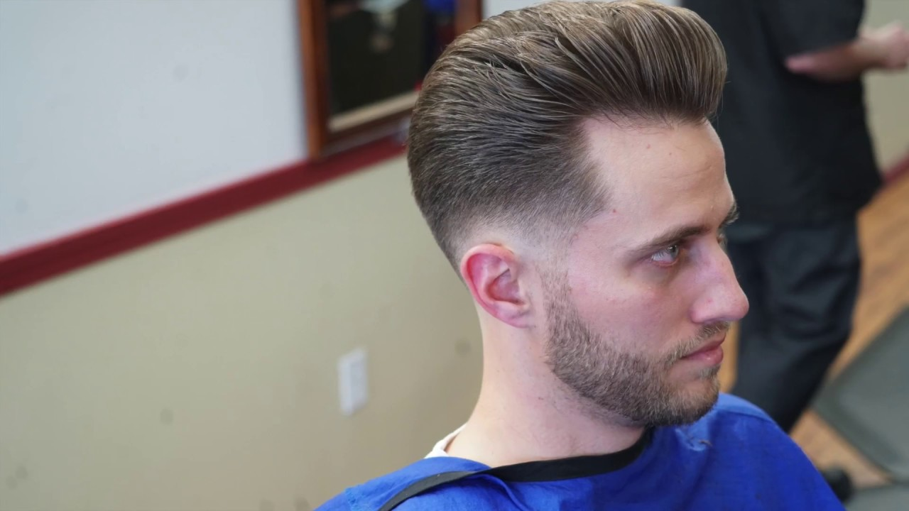 Haircut Tutorial Low Bald Fade With Pompadour