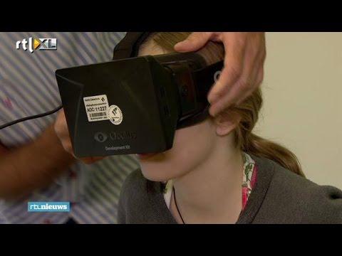 3D-bril tegen pijn - RTL NIEUWS