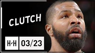 Marcus Morris Full Highlights Celtics vs Blazers (2018.03.23) - 30 Pts!