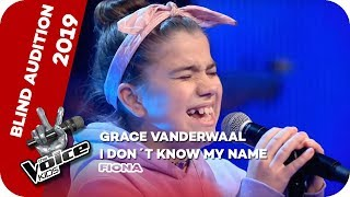 Grace VanderWaal - I Don't Know My Name (Fiona)   Blind Audition   The Voice Kids 2019   SAT.1