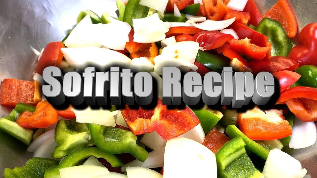 Sofrito Recipe | NO MSG Gluten Free | EASY